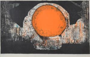 """Bertil Lundberg """"En inre strömning"""", 1968"""