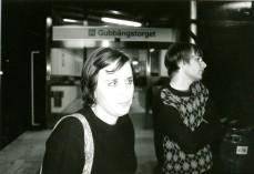Hanna Fahl och jag.
