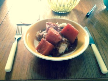 vattenmeloncurry