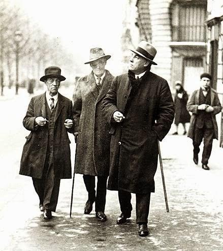 James Joyce and James Stephens, Irish writers