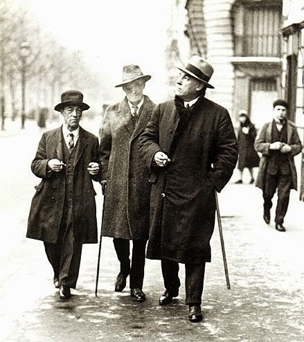 James Joyce and James Stephens, Irish writers